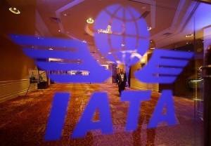 IATA年次総会の会場(12年6月11日、中国・北京)