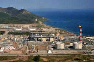 環境汚染等が問題となっているサハリンⅡ開発に伴う事業サイト