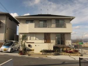 大阪ガスなどが実験している奈良県王寺町の「スマートエネルギーハウス」=大阪ガス提供