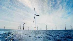 シーメンスの洋上風力発電所群