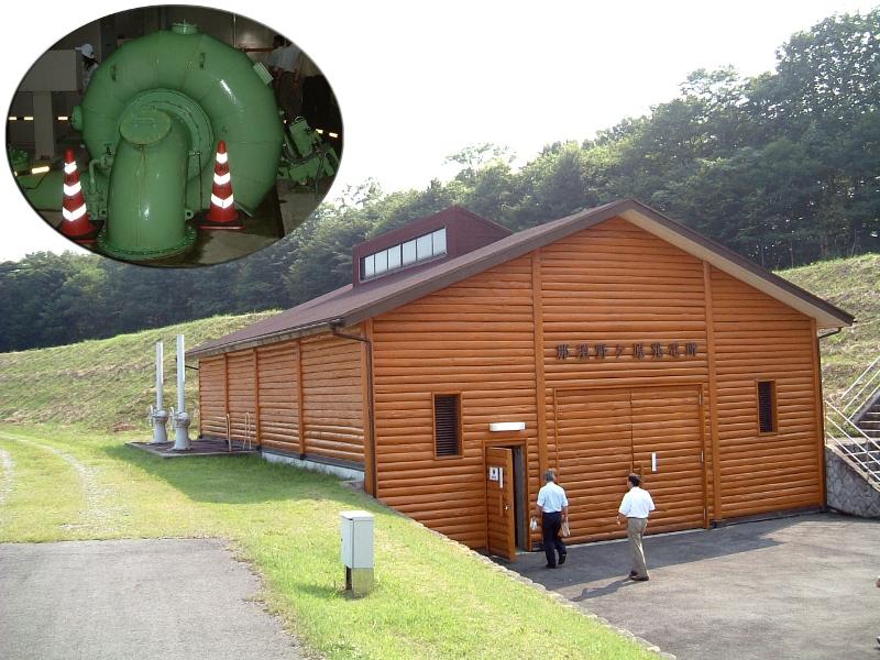栃木県の那須野ケ原の農業水力発電所