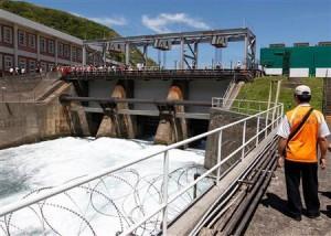 台湾の原発、放射性物質を含む水が流出か