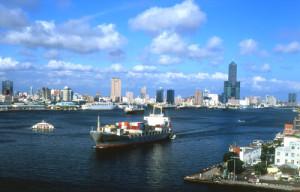 台湾の高雄港