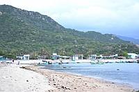 ベトナム・ニントゥアン省の原発建設予定地=2012年4月