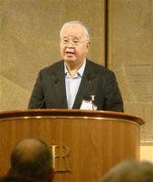 この親父が、本当に日本の経済界を代表していいのか?経済人はもっと将来を展望できる人を代表に選んでくれ!